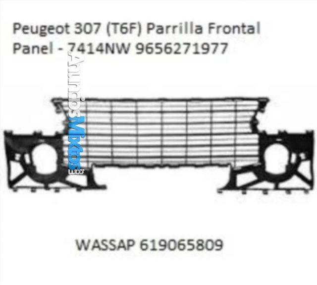 parrilla frontal int peugeot 307 t6f