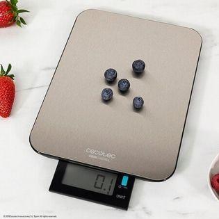 Báscula Digital de Cocina Cecotec Cook Control 900