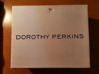 Cuñas naranjas, marca Dorothy Perkins.