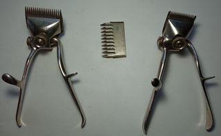 Maquinillas de cortar el pelo antiguas