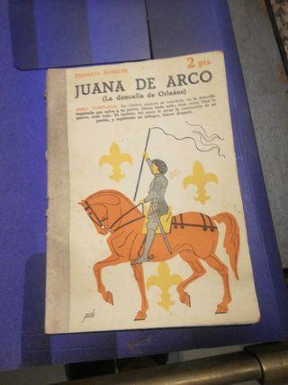 folleto juana de arco 1950