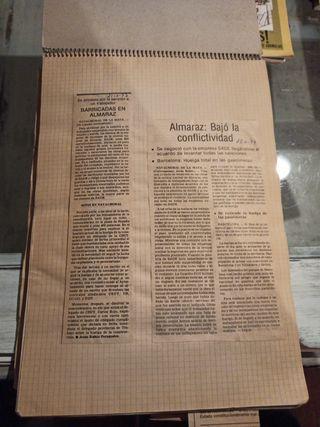 Recortes de prensa Centrales nucleares