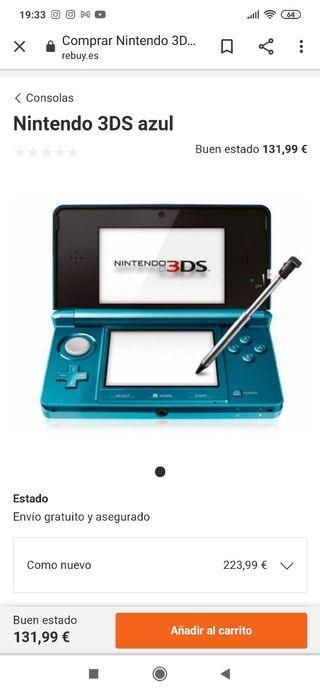 NINTENDO 3DS COMO NUEVA