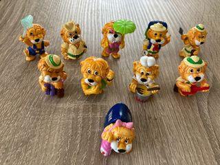 Colección completa Kinder leones 1993