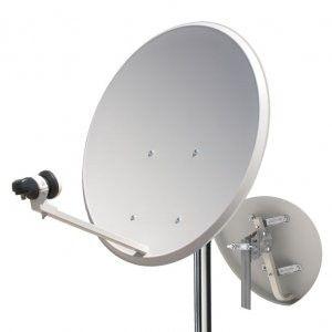 Antena Parabolica con soporte de brazo para pared