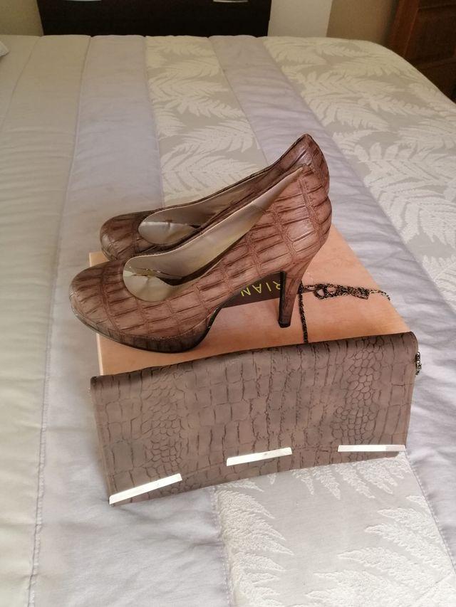 Vendo zapatos y cartera