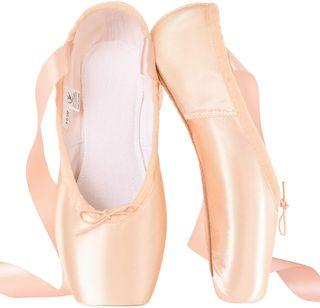 tanzdunsje Zapatillas de Ballet de Punta (40)
