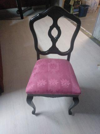 Preciosa silla clasica