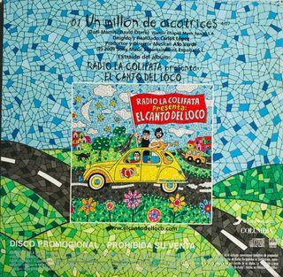 CD Single Canto del Loco Un millón de cicatrices