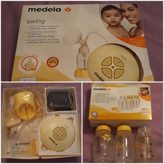 Sacaleches medela swim + botellas