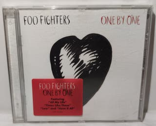 CD FOO FIGHTERS ONE BY ONE