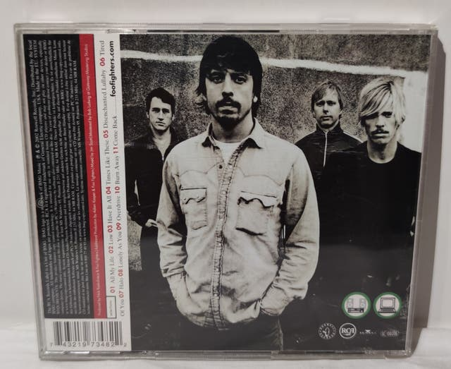 CD - FOO FIGHTERS - ONE BY ONE