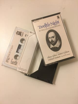 Cassettes Twelfth Night William Shakespeare