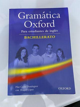 Gramática Oxford Inglés Bachillerato
