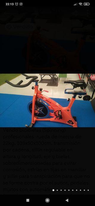 Bicicletas Spinning profesionales