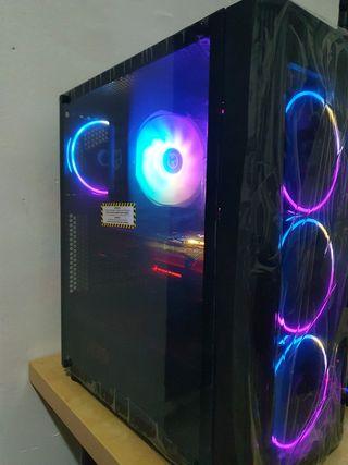 PC GAMING ROG STRIX 1070TI 8 GB , i5 9600K
