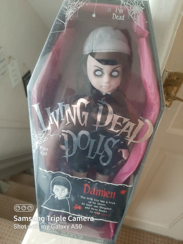 Collectable living dead doll