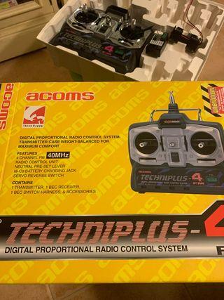 Emisora R/C Acoms Techniplus 4 canales