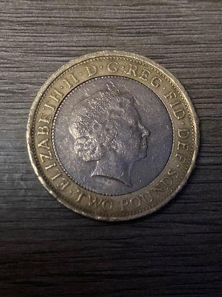 1807 £2 collectible coin