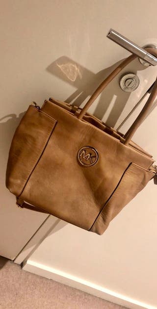 Tan leather bag for sale