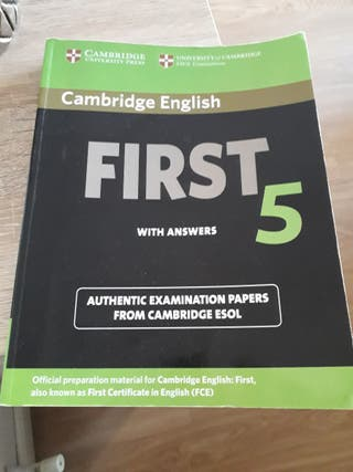 libro ingles First 5
