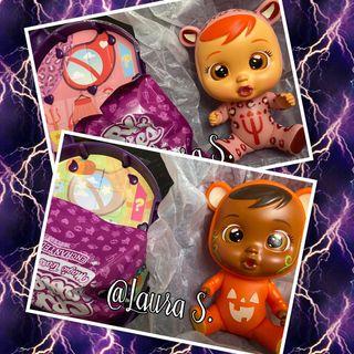 Bebes Llorones Lea y Bonnie Halloween. Cry Babies
