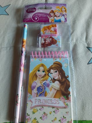 set de papeleria princess