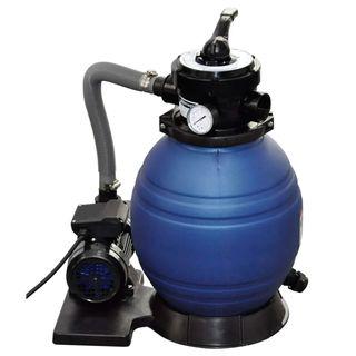 Bombas de filtro de arena 2 unidades 400 W 11000