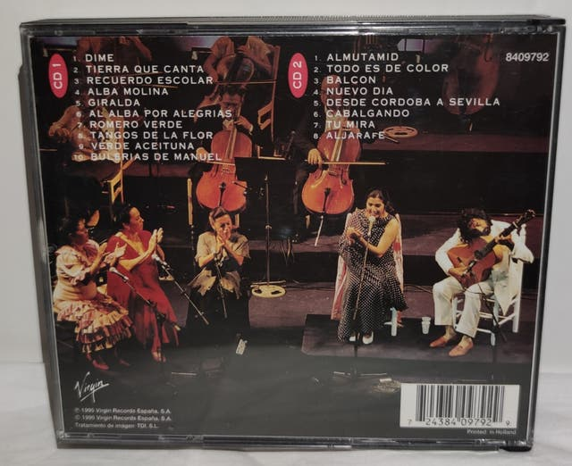 CD - LOLE Y MANUEL - UNA VOZ Y UNA GUITARRA