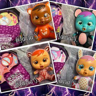 Bebes Llorones lote 4 Bebes Halloween.Cry Babies