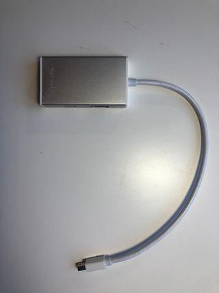 Adaptador MAC tienda APPLE: HMDMI, DVI, VGA