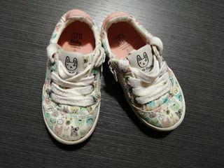 Zapatillas t 21. Zara