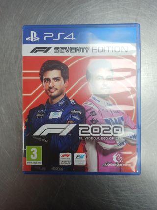 F1 2020 Seventy Edition, PS4