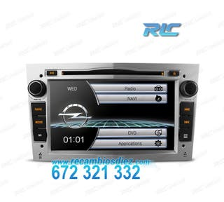 "RADIO GPS 7"" OPEL GRIS CLARO USB GPS TACTIL HD"