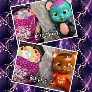 Bebes Llorones Lala y Bonnie Halloween. Cry Babies