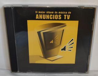 CD EL MEJOR ÁLBUM DE MUSICA DE ANUNCIOS TV