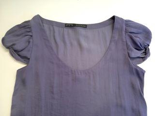 Blusa Zara mujer - color lila