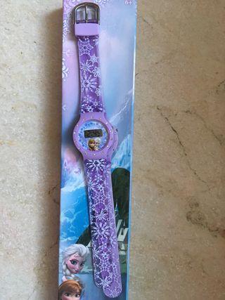 Reloj Frozen niña nuevo!