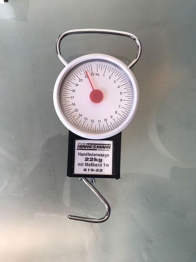 Balanza dinamómetro