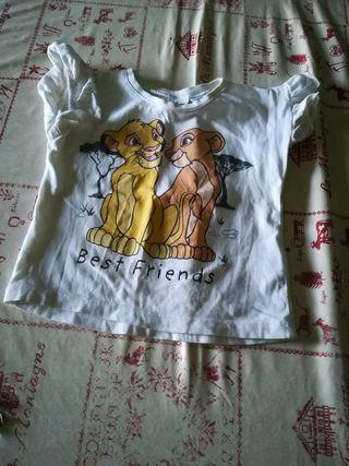 camisetas 9 meses cada una 1er