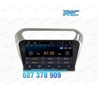 NAVEGADOR GPS GPS 9 ANDROID 6,0 PEUGEOT 301 CITRO