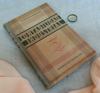 Libro antiguo. Tratado de Contabilidad Industrial.