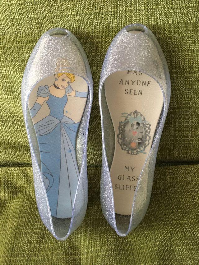 Disney zapatos cenicienta 35 nuevas