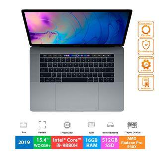 """Apple MacBook Pro 15.4"""" 2019 - 8C i9-9880H - 512GB"""
