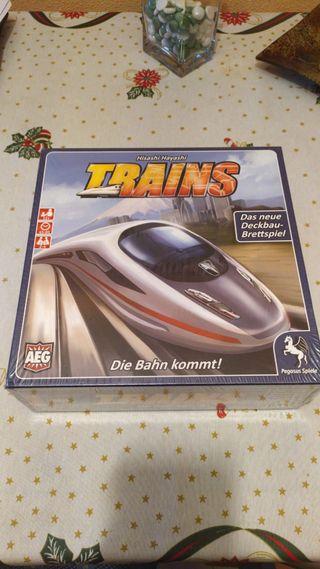 Juego de mesa Trains