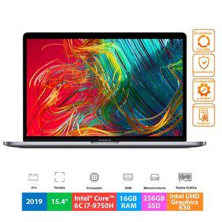 """Apple MacBook Pro 15.4"""" 2019 - 6C i7-9750H - 256GB"""