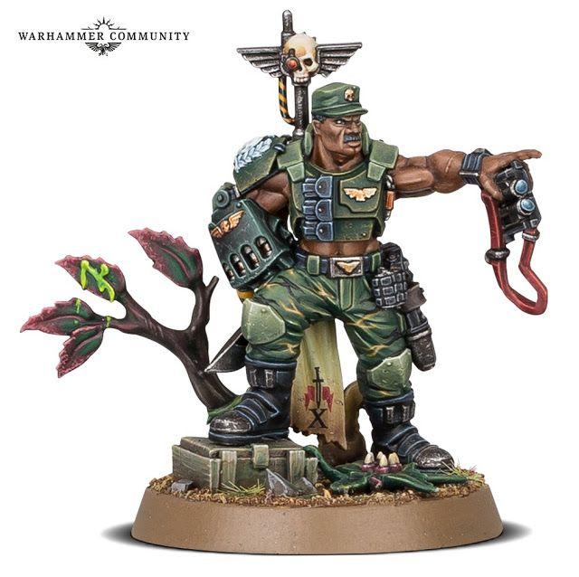 Warhammer 40k - Coronel Catachan