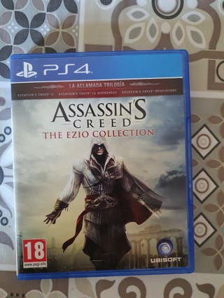 juego ps4 assassins the ezzio collection.