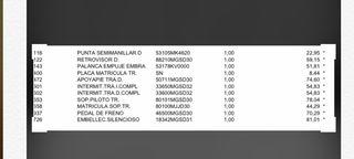 Se venden urgentes piezas de honda no 750 s