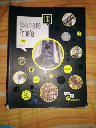 Libro Historia de España 2 Bachillerato Edelvives